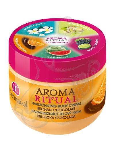 Dermacol Aroma Ritual Harmonizing Body krém Belgian Chocol (Belgian Chocolate) 300ml
