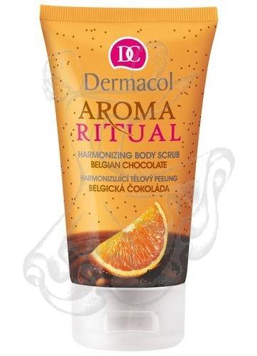 Dermacol Aroma Ritual Harmonizing Body Scrub Belgian Choco (Belgian Chocolate) 150ml
