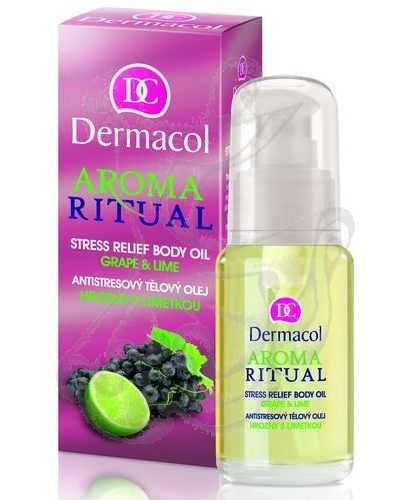 Dermacol Aroma Ritual Body Oil Grape&Lime (Hrozny s limetkou) 50ml