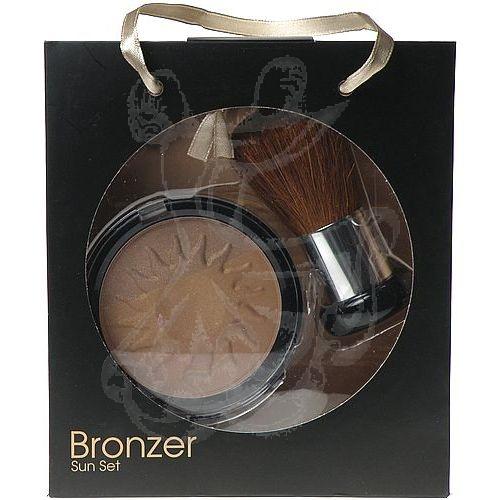 Makeup Trading Bronzer Sun Set 14 g 14g Bronzing Powder + Brush (Sada dekoratívnej kozmetiky) 14ml
