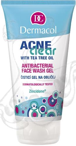 Dermacol AcneClear Antibacterial Face Wash gél 150ml