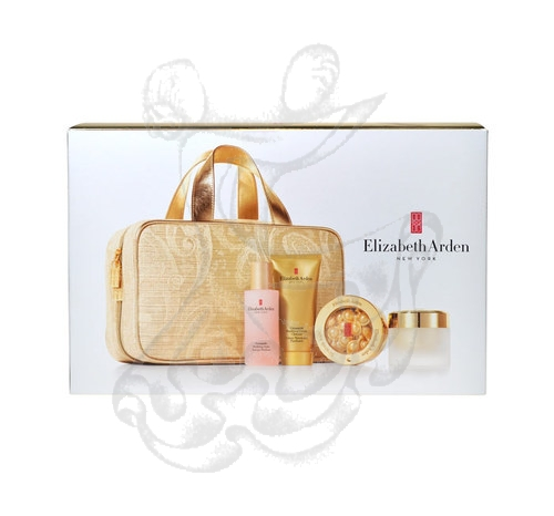 Elizabeth Arden Ceramide 30 kapslí /14ml Capsules Daily Youth Restoring Serum + 50ml Purifying krém Cleanser + 50ml Purifying Toner + 50ml Ceramide Lift Day krém + Bag 164ml