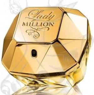 Paco Rabanne Lady Million Edp 80ml + 100ml telové mlieko 80ml