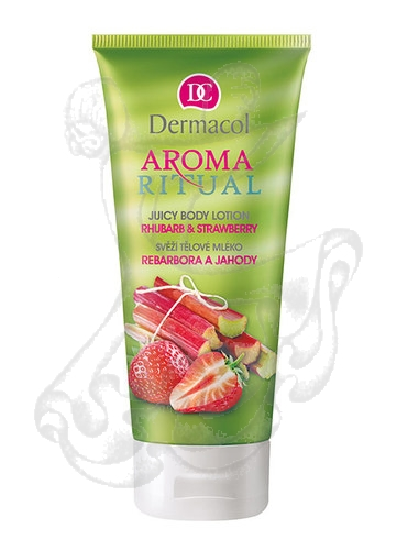 Dermacol Aroma Ritual Body Lotion Rhubarb&Strawberry (Rebarbora a jahody) 200ml