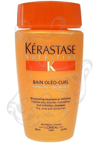 Kérastase Nutritive Bain Oleo Curl Shampoo Dry Curly Unruly (Suché, vlnité a nezkrotné vlasy) 250ml