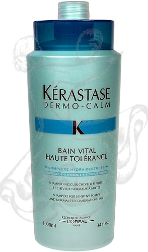 Kérastase Dermo-Calm Bain Vital Haute Tolérance Sens Nor Com (Normální a smíšené vlasy) 1000ml