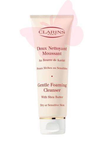 CLARINS Gentle Foaming Cleanser Dry Skin